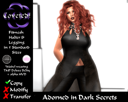 Adorned Dark Secrets